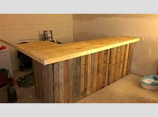 50+ Bestloved Pallet Bar Ideas & Projects