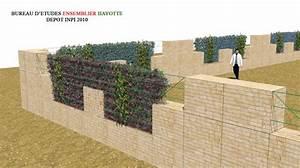 mur beton gabion n6 With exceptional maison bois et pierre 15 cloture en parpaing