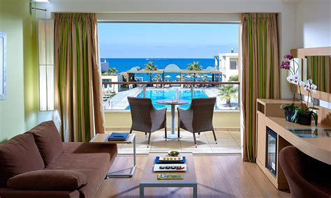 Double Sea View Room Chania Crete| Imperial Beach Wing