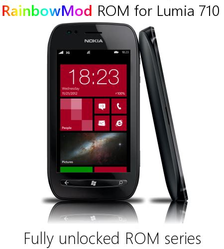 rom rainbowmod 2 2 for lumia 710 updated nokia lumia 800