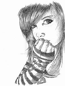 Best Pencil Sketch Alone Girl Love Couple Drawings, Pics ...