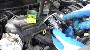 How To Change Oil Filter Vvt