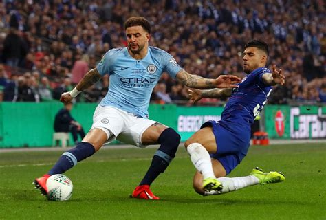 Pictures: Man City v Chelsea in the Carabao Cup Final at ...
