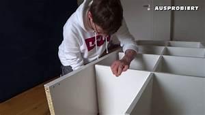 Ikea Tischbeine Höhenverstellbar Anleitung : ikea kallax aufbau aufbauanleitung youtube ~ Watch28wear.com Haus und Dekorationen