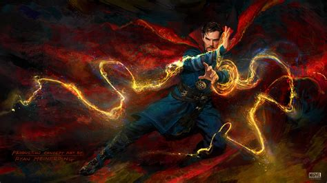 Wallpaper Doctor Strange, Benedict Cumberbatch, Artwork
