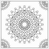 Coloring Circles Fractal Crop Printable Cards Calling Dots Simple Deco Adults September Designlooter 88kb 1600px 1600 Ornament Enough Popular sketch template
