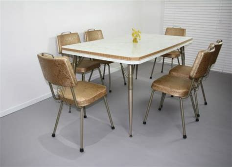 60s kitchen table retro vintage laminex kitchen table 6 chairs 50s laminate