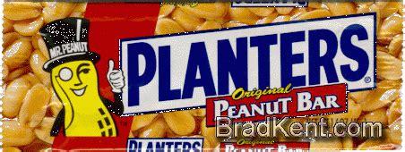planters peanut bar bradkent wrappers wrappers planters 174 peanut bar