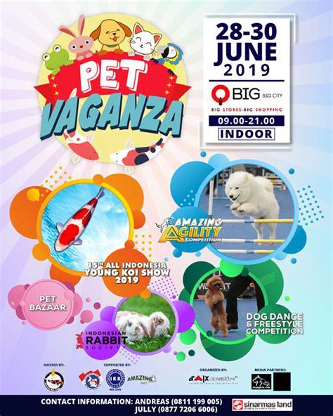 pet vaganza  jadwal event info pameran acara