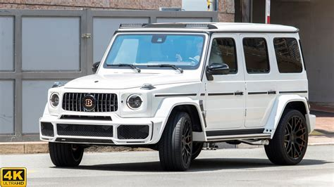 Brabus leather nappa cuoio brown engine: BRABUS G800 WIDESTAR MERCEDES-BENZ G63 AMG | 2020 4K - YouTube