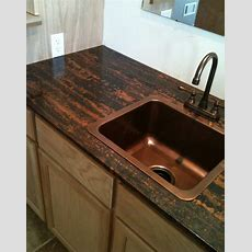 Love This Copper Counter Top And Sink  Simple, Yet