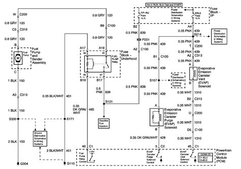 Silverado Fuel Pump Wiring Diagram