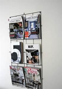 Porte Journaux Mural : les 25 meilleures id es de la cat gorie porte revue mural sur pinterest organiser notes ~ Teatrodelosmanantiales.com Idées de Décoration