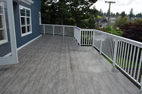 vinyl decking vancouver arbutus sundeck is the best