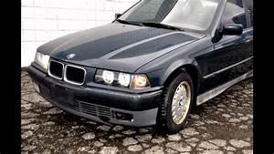 Bmw All Parts V Bmw E36 320i M50 6 Cyl Auto Sedan Built Dec 1993 Fa20711 Dunkelgrun Ii Black