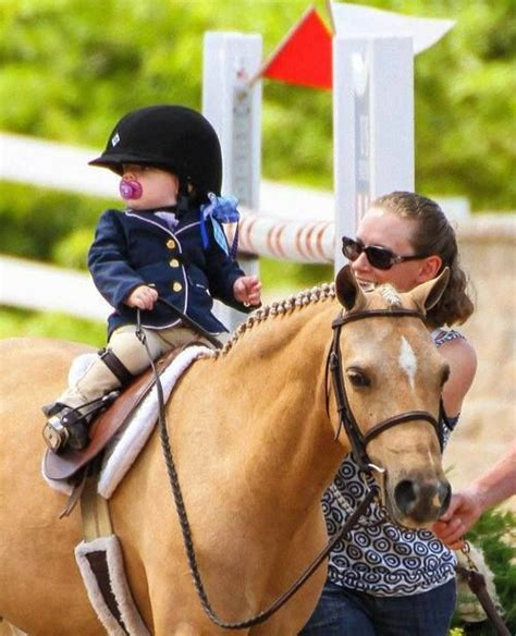 horse equestrian children riding horses boss future ponies lead line too cute pony ride kid toddler young training pretty face