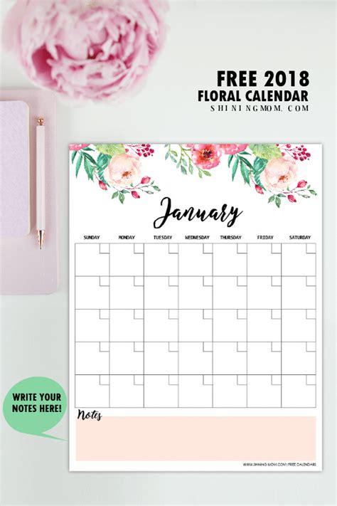 printable monthly calendar planner