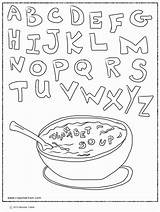 Coloring Alphabet Soup Pages Abc Printable Worksheets Letter Letters Sheets Bestcoloringpagesforkids Printables Vegetable Growing Storybookstephanie Books Popular Adult Coloringhome Getcolorings sketch template