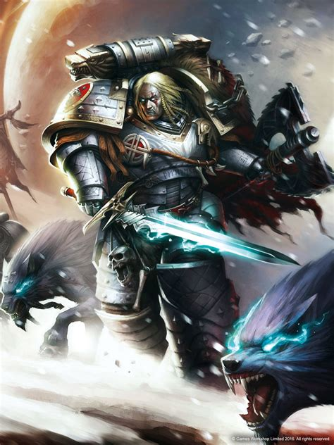 warhammer  space wolves wallpaper  images