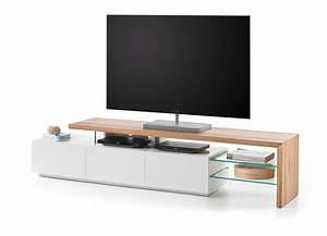Tv Lowboard Weiß Matt : tv lowboard tv board in asteiche massiv mit absetzungen in ~ Pilothousefishingboats.com Haus und Dekorationen