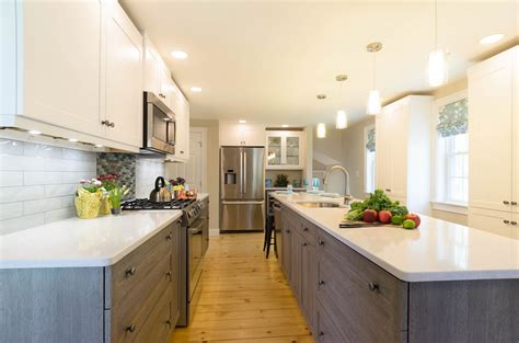 Multi Wood Kitchen Cabinets by The Archives Kitchens