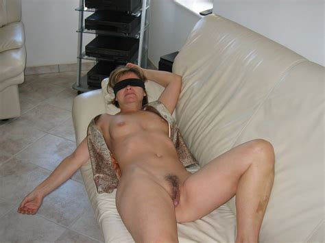 slave wife spread naked forced to expose herself with a dildo