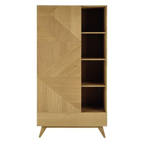 canapé bas design armoire en bois l 105 cm origami maisons du monde