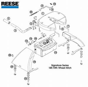 30 Reese 5th Wheel Hitch Parts Diagram