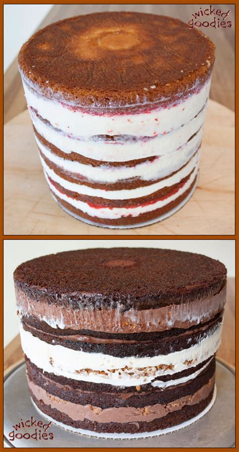 how to make a cake tall layer cake making wicked goodies