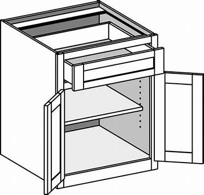 Base Desk Cabinet Cabinets Office Doors Butt