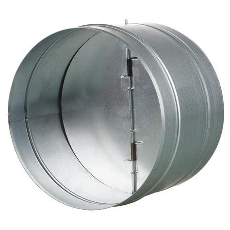 vents    galvanized  draft damper  rubber