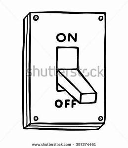 turn off lights coloring page sketch coloring page With electrical switches