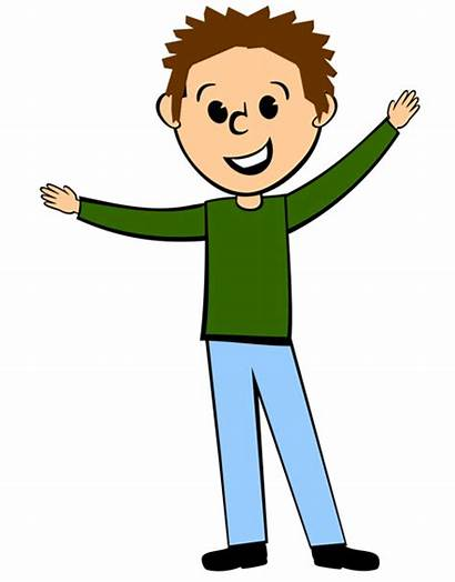 Clipart Guy Clip Boys Nice Young Kid