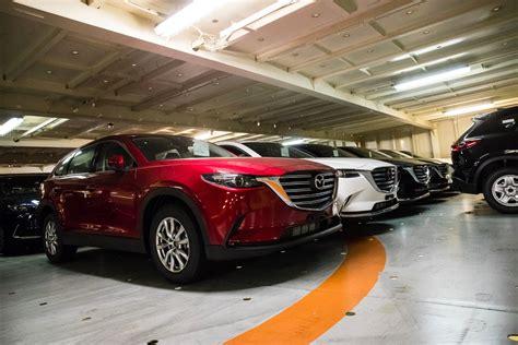 News  Allnew Mazda Cx9 Touches Down In Melbourne