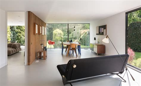 Contemporary House Interior by Britain S Finest Modernist Homes Wallpaper