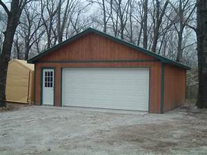 24x24 2 car garage good will builders inc With 24x24 steel garage