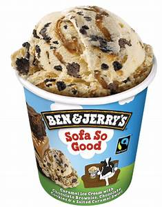 Sofa So Good Ice Cream Ben & Jerry's