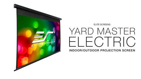 Elite Screens YardMaster Electric Indoor/Outdoor