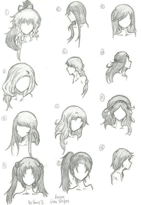 hair styles    animebleach  deviantart
