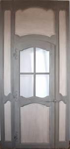 boiseries et porte vitree epoque regence portes With porte de garage enroulable et porte intérieure blanche vitrée