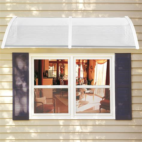 Window Cover For Home by Diy Window Awning Front Door Canopy Polycarbonate Cover