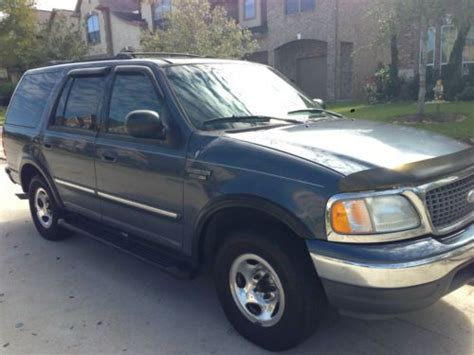 how petrol cars work 2002 ford expedition security system sell used 2002 ford expedition xtl 4 6l v8 efi blue body gray interior in missouri city texas