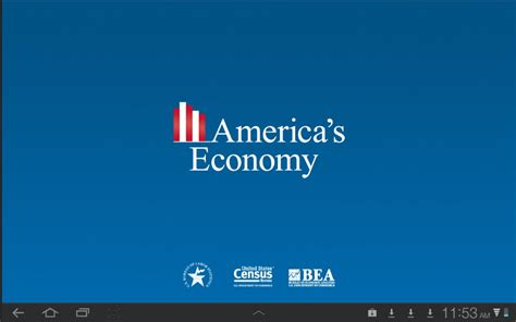 bureau of economics census bureau releases its mobile app providing