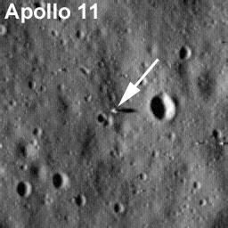 LRO Sees Apollo Landing Sites   NASA