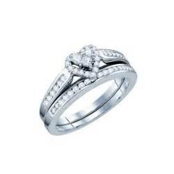 shaped wedding rings carat shaped wedding ring set on k white gold eternity jewelry