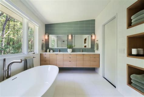 Modern Architecture Bathroom Design by 20 Stylish Mid Century Modern Bathroom Designs For A