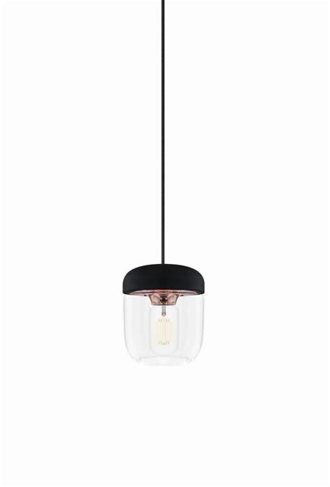 acorn pendel svart takpendel lampgallerianse