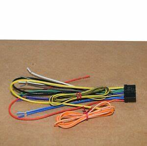 New Wire Harness For Alpine Ilx
