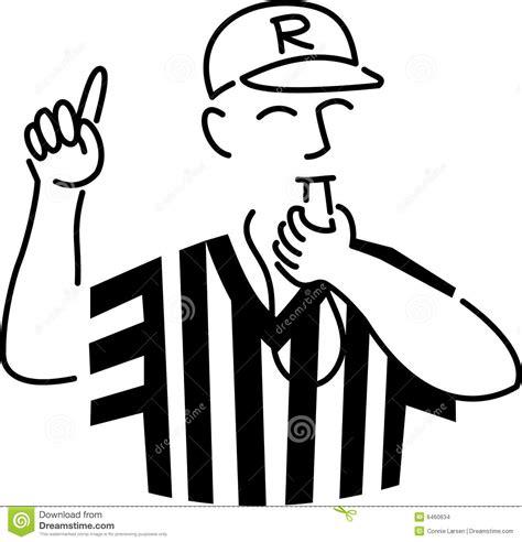 cartoon sports referee stock images image