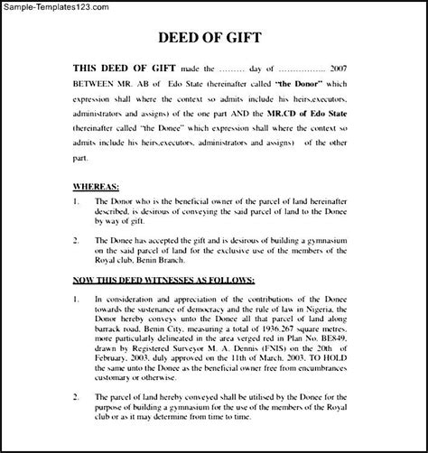 21556 sle warranty deed form gift deed form gift ftempo
